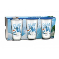 Set 3 verres Frozen