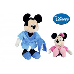 Mickey et Minnie peignoir