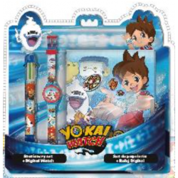 Montre et carnet Yo-Kai-Watch