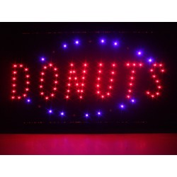 Tableau led « donuts »