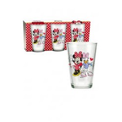 Set 3 verres Minnie